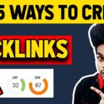 How To Create Backlinks To Your Website | Top 5 Ways To Make High Quality Backlinks