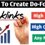 How To Create Unlimited Do Follow Backlinks 2020 | Dofollow Backlinks |