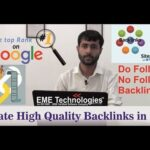 How to Create high quality Backlinks in 2019 | Get Do Follow and No Follow Backlinks By Shiv Dhiman