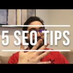 How to Immediately Improve your SEO | 5 SEO Tips