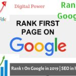 How to Rank Your Website On Google in 2019 First Page | SEO  hindi