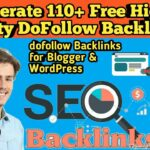 How to get high quality backlinks for free | Create Free High Quality Dofollow BackLinks 2019