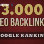 I will build 3000 SEO backlinks for google ranking