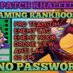 Latest !! MMR Rank Booster   Reduce Lag   Increase FPS   Auto Winsteak and more   Mobile Legends