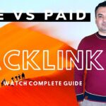 Link Building Do Follow Backlinks SEO For Beginners Off Page SEO Free and Paid Backlink?