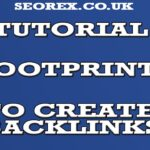 Use Footprints To Find New Backlinks Targets - Seo Tutorial