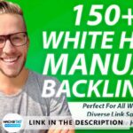 150 SEO backlinks white hat manual link building service for google - top ranking - Method 2021