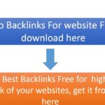 New SEO Backlinks that can boost your website's rank