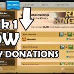 Alliance Donation Rankings 1 Tips and Tricks + 60 Edward Spins | Rise of Kingdom's