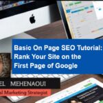Basic On Page SEO Tutorial to Rank Your Site High on Google