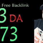DA 93 PA 73 Guaranteed 100 Free High Authority SEO Backlinks