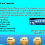 .EDU Link Pyramid  Backlinks- Buy Cheap Edu Backlinks