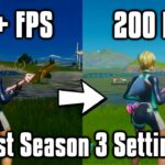 Fortnite Season 3 Settings Guide! - FPS Boost, Colorblind Modes, & More!
