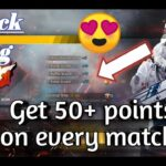 Get 50+ Rank points on every match now 😍 | Push rank fastly | Free Fire