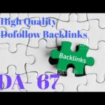 High Quality Dofollow Backlinks Instant Approval Through Comments