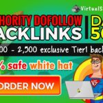 I will boost your rankings with tier1 dofollow SEO backlinks