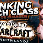 RANKING CLASSES | Shadowlands Alpha Changes Announcement
