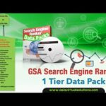 Tier 1 Over View of GSA Search Engine Ranker 7 Tier data pack   7 Tier GSA Search Engine Ranker Data