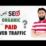 What is Web Traffic? Organic Traffic vs Paid Traffic [Brilliant SEO Tips] | The Skill Sets