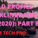প্রোফাইল ব্যাকলিংক Part 8:Profile Backlinks Bangla Tutorial।Backlinks SEO Tutorial 2020#MAMTECHPRO