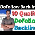 10 High Quality Instant Apporval DoFollow Backlinks | Create Do Follow Backlinks | Make Backlinks |
