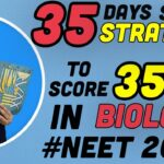 35 Days Rank Booster Strategy Of Biology | NEET 2020 | NEET Biology Strategy