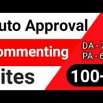 Auto Approval 100+ Commenting Sites List For Backlinks | Do-Follow Backlink list