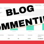 Blog Commenting for traffic and backlinks. #AmazonAffiliateCaseStudy Aged Site Case Study #ASCS #5