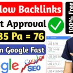 Create High-Quality Dofollow Backlinks 2020 - Instant Approval | Backlinks Kaise Banaye? High DA PA