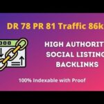 DR 78 UR 81 Social listing indexable Backlinks for free | High Authority Backlinks