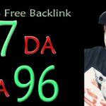 High DA 97 PA 96 Guaranteed 100 Free High Authority SEO Backlinks
