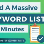 How To Build Keyword Lists For Your Website - SPPC SEO Tutorial #5