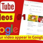 How To RANK YouTube Videos on FIRST Page of GOOGLE in minutes