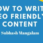 How to Write SEO Friendly Content  For Website and Blog in Wordpress