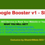 I Will Google Booster V1 - 10130 Premium Backlinks To Boost Rank
