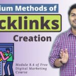 Learn how to create Backlinks easily in SEO  | Module 8.4 | Digital Marketing Course In Hind