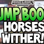 Minecraft (Xbox360/PS3) - JUMP BOOST, WITHER SKELETON + MORE! SCREENSHOT! +INFO!