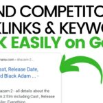 Website Competitor Backlinks and Keywords Kaise Dekhein? How to find Competitor Keywords to Rank