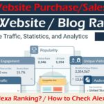 What is Alexa Ranking? | How to Check Website Rank | How to Check Website Sales/Purchase Price