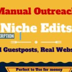 blogger outreach for high quality SEO backlinks link building service