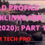 প্রোফাইল ব্যাকলিংক Part 1:Profile Backlinks Bangla TutorialBacklinks SEO Tutorial 2020#MAMTECHPRO