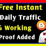 100% Working Trick - How to get organic traffic to your website | Live Proof added