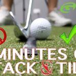 4 minutes on Stack & Tilt | Golf Tips | Lesson 126