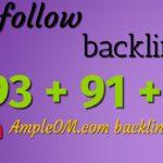 DA 93 + 91 + 89 free dofollow backlinks: video 56