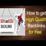 Get high quality backlinks for free 2017 - Easily get backlinks to your website for free