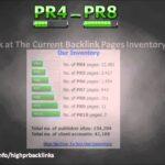 High PR Backlinks For Sale - Get Lots Of PR4-PR8 Links