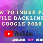 How To Index Fast Profile Backlinks In Google 2020 | My Secret Method Revealed | Babbar Town