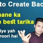 How create backlink [ Dofollow ] How To Create High Quality backlinks [ in hindi 2021 ]