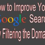 How to Search by Domain - Improve Your Google Search Skills
