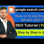 How to add blog to Google search console | SEO Tutorial | Tamil | Part 3
